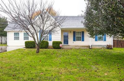 Lavergne Single Family Home Under Contract - Not Showing: 1708 Luton Dr