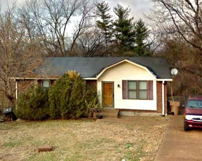 Nashville TN Single Family Home For Sale: $165,000