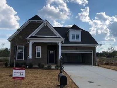 Murfreesboro Single Family Home For Sale: 3623 Willow Bay Lane - Lot 120