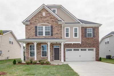 Murfreesboro Single Family Home For Sale: 3611 Willow Bay Lane - Lot 112