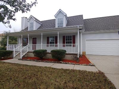 Lavergne Single Family Home For Sale: 604 Rocky Ridge Cir