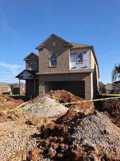 Murfreesboro Single Family Home For Sale: 3134 Kemp Way Lot 66