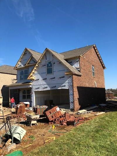 Murfreesboro TN Single Family Home Under Contract - Not Showing: $296,371