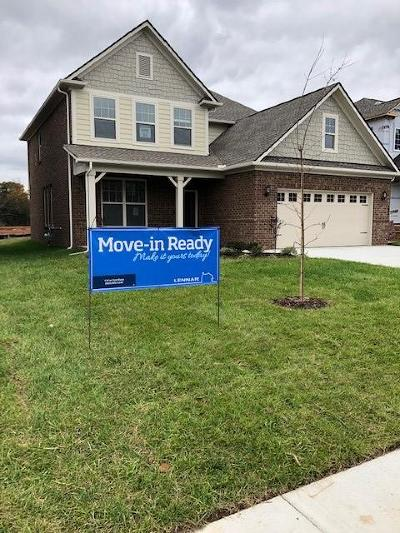 Murfreesboro TN Single Family Home Under Contract - Not Showing: $289,990