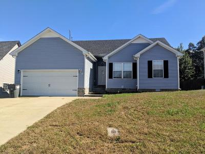 Clarksville TN Single Family Home For Sale: $126,000