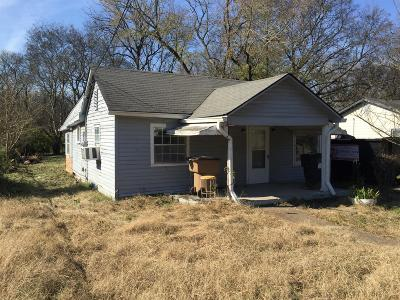 Nashville Single Family Home Under Contract - Not Showing: 1619 24th Ave N