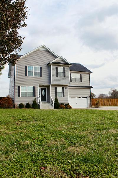 Christian County, Ky, Todd County, Ky, Montgomery County Single Family Home Under Contract - Not Showing: 970 Webb Rd