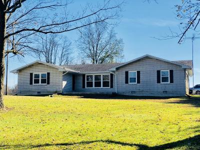 Shelbyville Single Family Home For Sale: 1110 Horse Mountain Rd