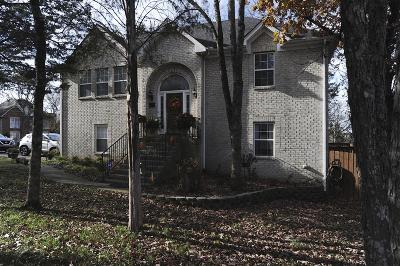Smyrna Single Family Home For Sale: 100 Cedar Forest Dr