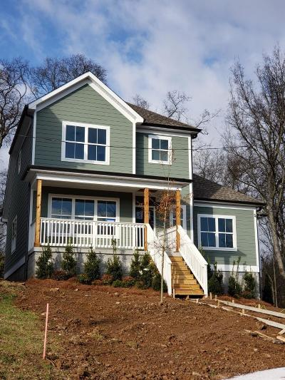 Nashville Single Family Home Under Contract - Showing: 1035 40th Ave N