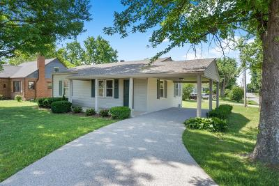 Springfield Single Family Home For Sale: 2301 Memorial Blvd