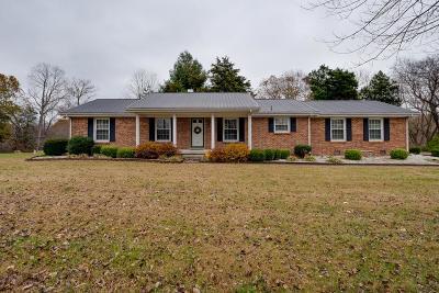 White House Single Family Home For Sale: 4125 Cross Plains Rd