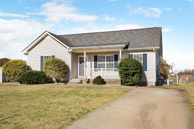 Montgomery County Single Family Home Under Contract - Not Showing: 445 Caney Ln