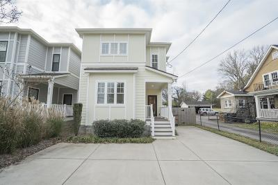 Nashville Single Family Home Under Contract - Not Showing: 2220 Carter Ave