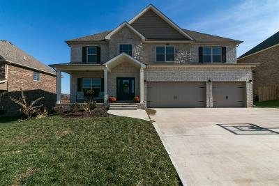Clarksville Single Family Home Under Contract - Showing: 595 Larkspur Dr