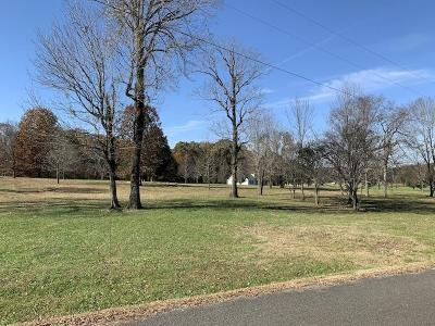 Cannon County Residential Lots & Land For Sale: 1861 Tassey Rd