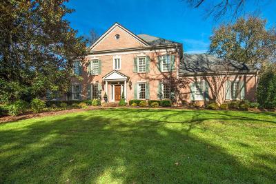 Nashville TN Single Family Home For Sale: $1,040,000