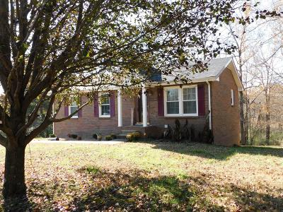 Clarksville Single Family Home Under Contract - Showing: 4480 Ashland City Rd