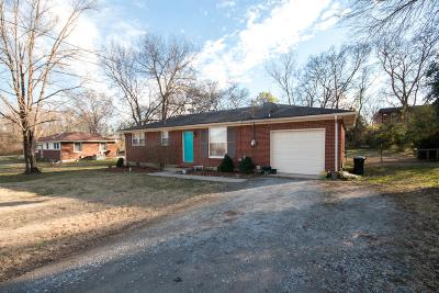 Hendersonville Single Family Home Under Contract - Showing: 103 Haven Street