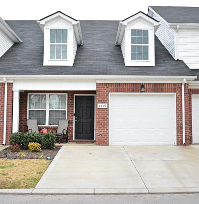 Rutherford County Condo/Townhouse For Sale: 4709 Chelanie Cir
