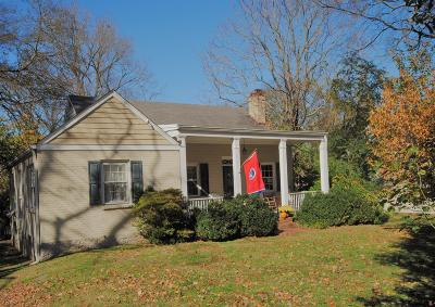 Nashville Single Family Home Under Contract - Showing: 3005 New Natchez Trce