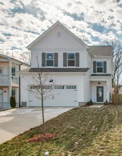 Nashville Single Family Home Under Contract - Showing: 6367 A Ivy St