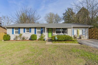 Nashville Single Family Home For Sale: 3009 Boulder Park Dr