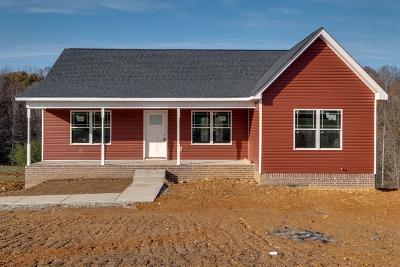 Dickson Single Family Home For Sale: 1265 Harmon Springs Road Lot 1
