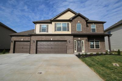Clarksville TN Single Family Home Under Contract - Showing: $245,400
