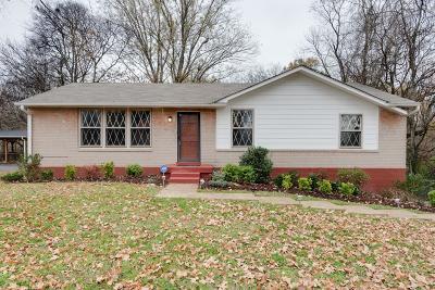 Nashville Single Family Home For Sale: 228 Nunley Dr