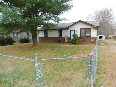 Clarksville Single Family Home Under Contract - Not Showing: 1492 Craig Dr