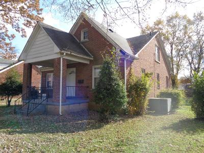 Lawrenceburg TN Single Family Home For Sale: $79,000