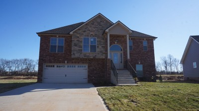 Clarksville TN Single Family Home Under Contract - Showing: $229,500