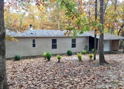 Sewanee Single Family Home Under Contract - Not Showing: 999 Jumpoff Mtn Rd