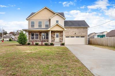 Clarksville TN Single Family Home For Sale: $197,500