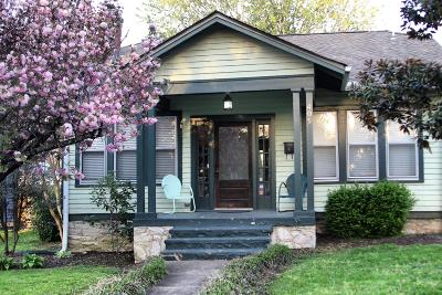 Nashville Single Family Home Under Contract - Not Showing: 405 S 17th St