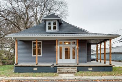 Springfield Single Family Home Active Under Contract: 1012 Cheatham St