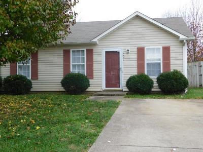 Christian County Single Family Home Under Contract - Not Showing: 1117 Timothy Ave