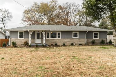 Gallatin Single Family Home Under Contract - Showing: 820 Spencer Ave