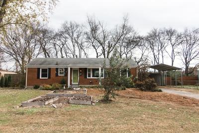Rutherford County Single Family Home Under Contract - Not Showing: 611 Olympia Pl