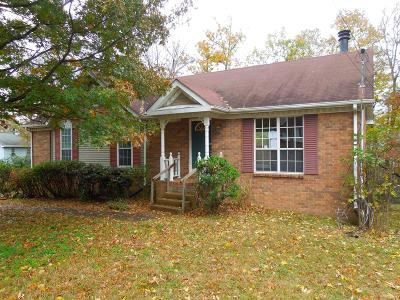 Cheatham County, Davidson County, Dekalb County, Robertson County, Rutherford County, Smith County, Sumner County, Trousdale County, Williamson County, Wilson County Single Family Home Under Contract - Not Showing