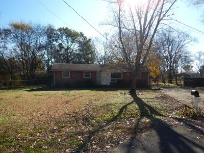 Smyrna Single Family Home Under Contract - Not Showing: 107 Sevier Ct