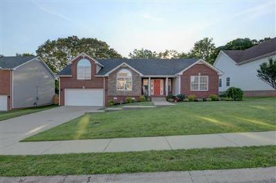 Clarksville Single Family Home Under Contract - Not Showing: 732 W Accipiter Cir