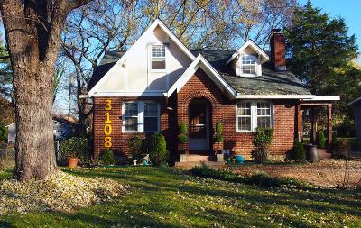 Nashville Single Family Home Under Contract - Not Showing: 3108 Wingate Ave