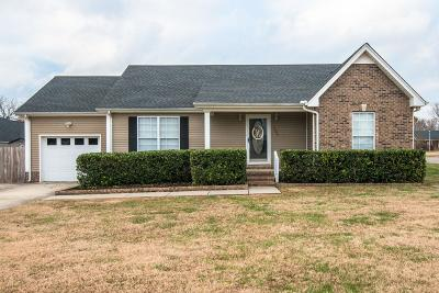 Robertson County Single Family Home Under Contract - Not Showing: 1006 Glennie Lee Dr