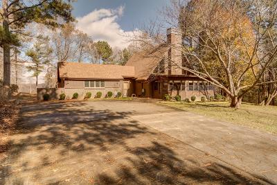 Christian County, Ky, Todd County, Ky, Montgomery County Single Family Home For Sale: 625 Salem Ridge Rd
