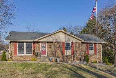 Hendersonville Single Family Home Under Contract - Not Showing: 319 Southburn Dr