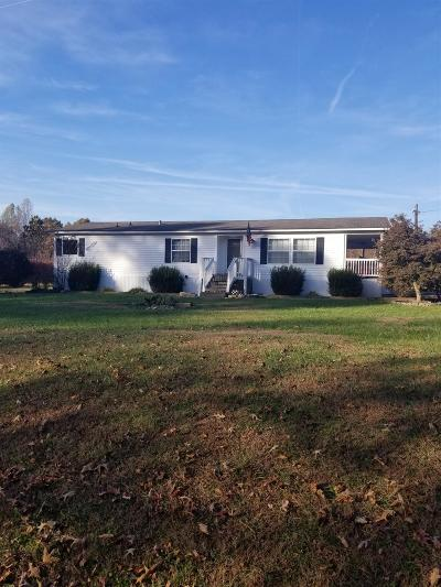 Bradyville Single Family Home Active Under Contract: 2449 K Parker Rd