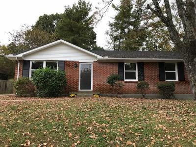 Montgomery County Single Family Home Under Contract - Not Showing: 326 Clearview Dr