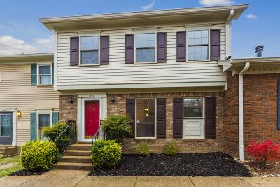 Brentwood Condo/Townhouse Under Contract - Not Showing: 522 Brentwood Pointe